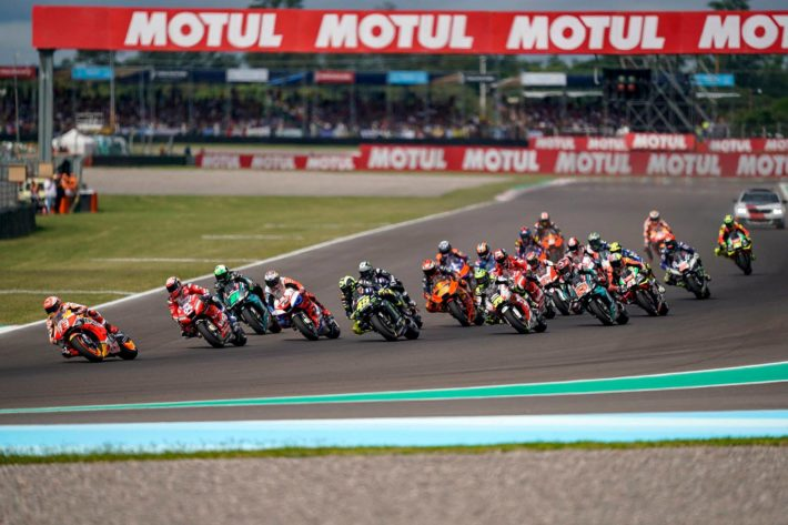 Racer action MotoGP 2019 Argentina
