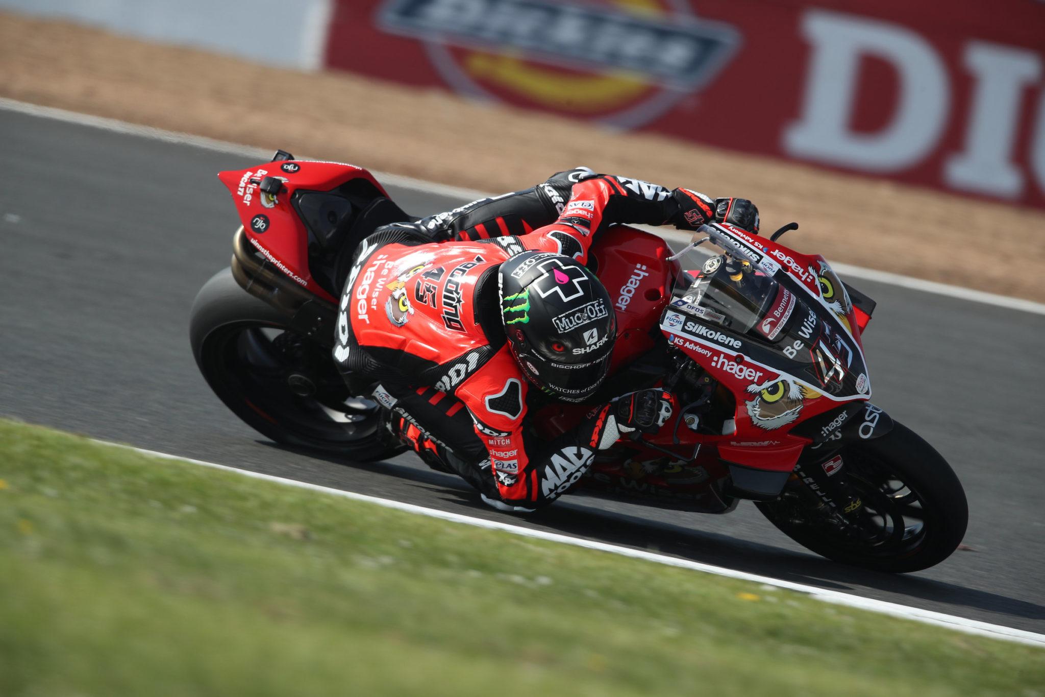 Scott Redding BSB Be Wiser Ducati