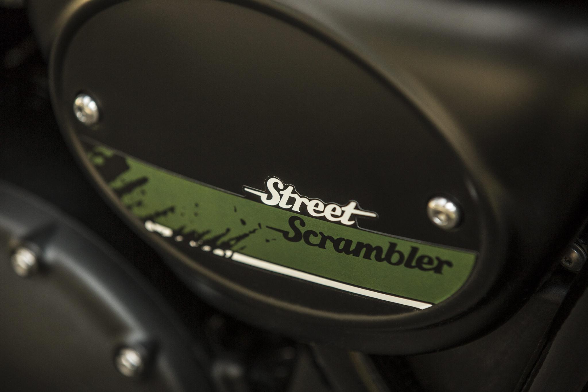 Triumph Street Scrambler 2019
