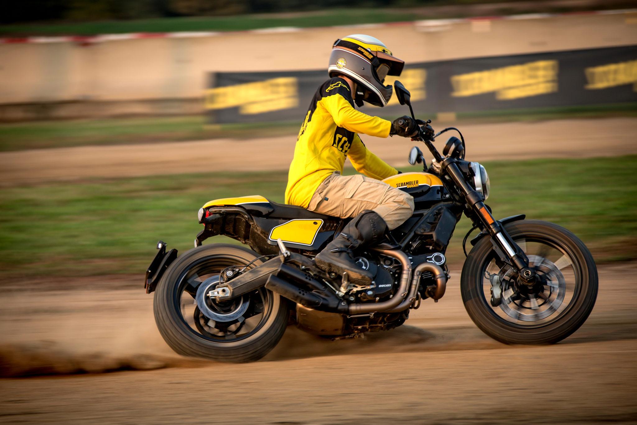 Ducati Scrambler Full Throttle test