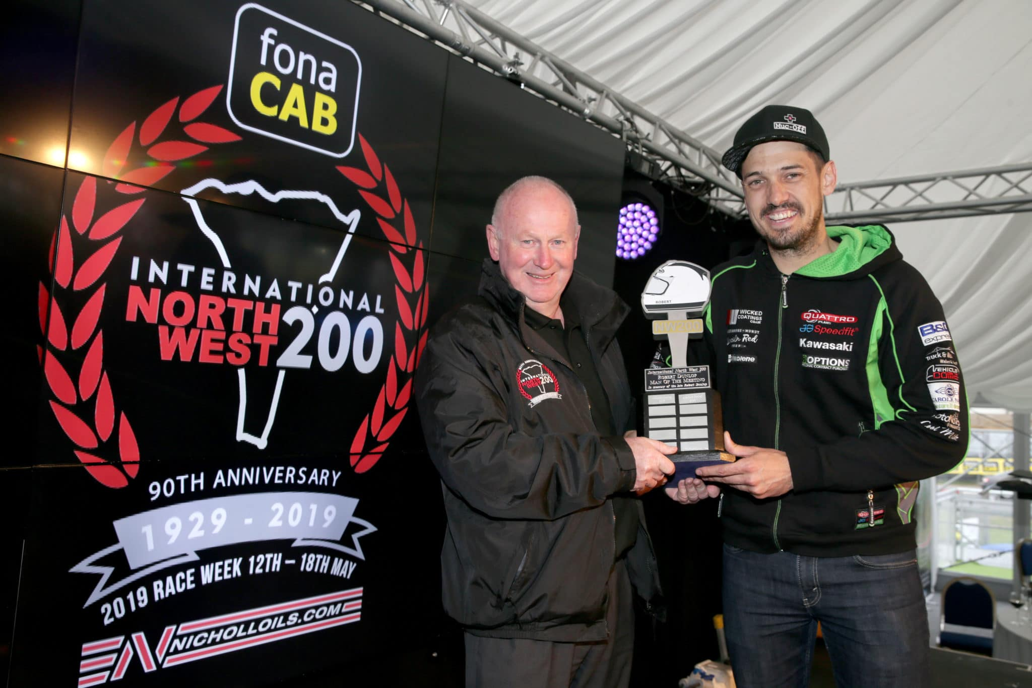 James Hillier takes Man of the Meeting at North West 200