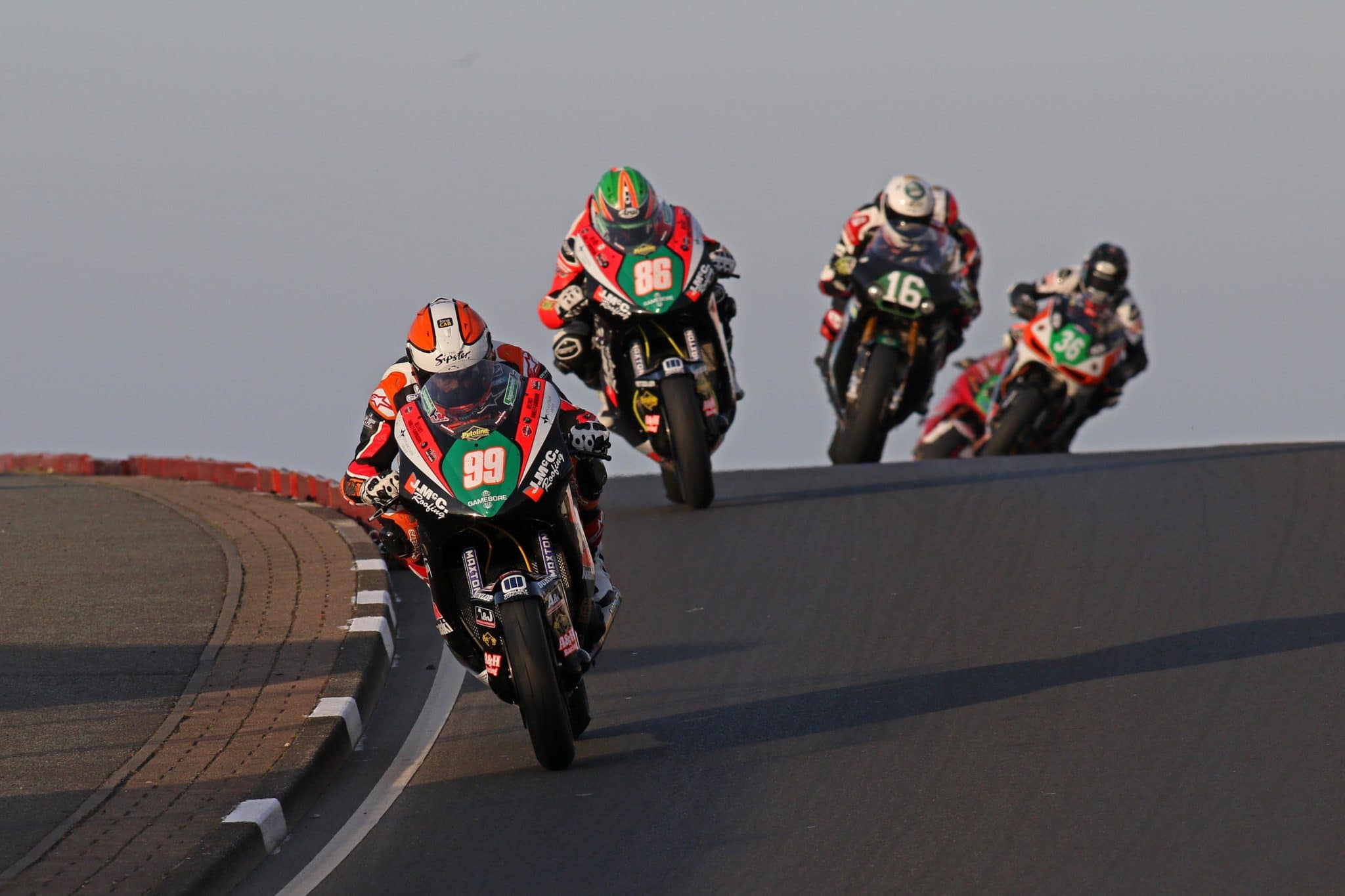 Jeremy McWilliams on his way to another NW200 victory credit Pacemaker Press International