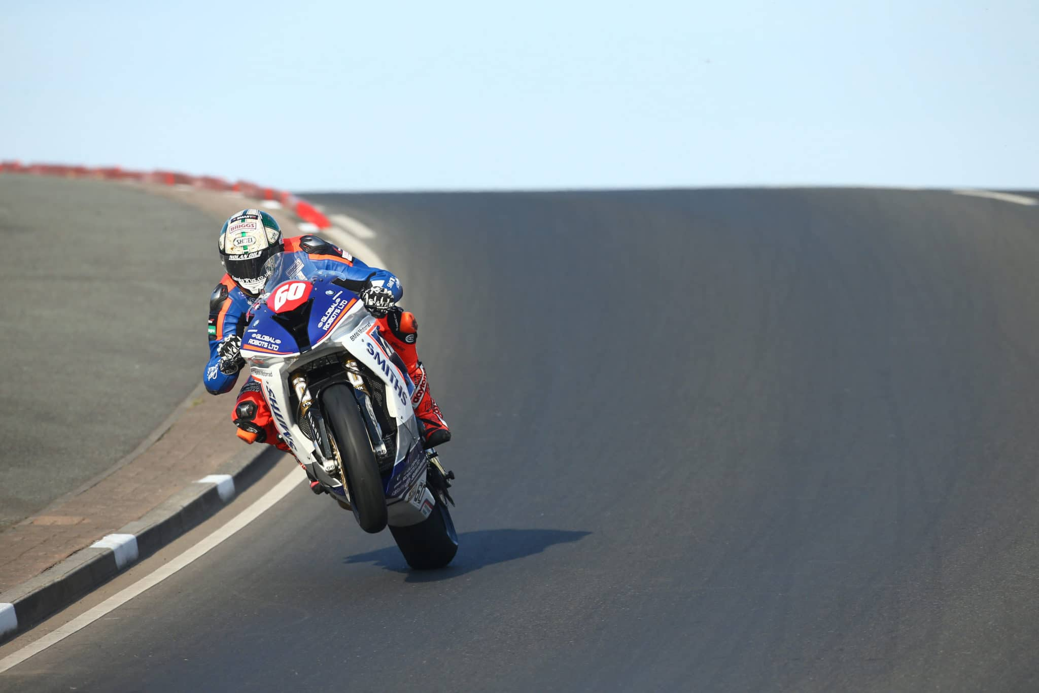 Peter Hickman wheelie