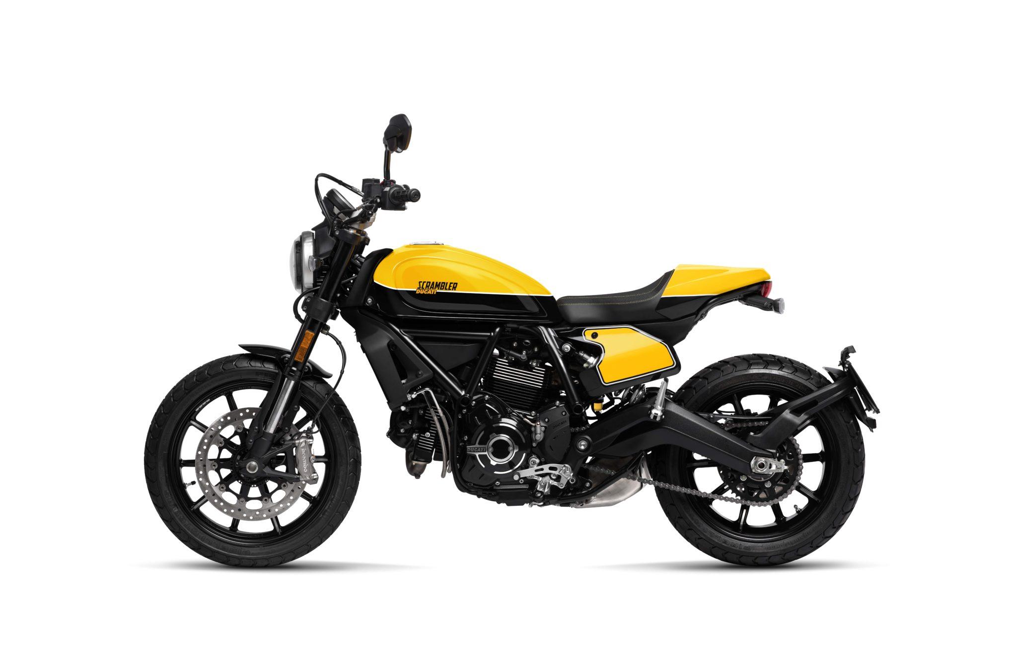 Ducati Scrambler Full Throttle side view