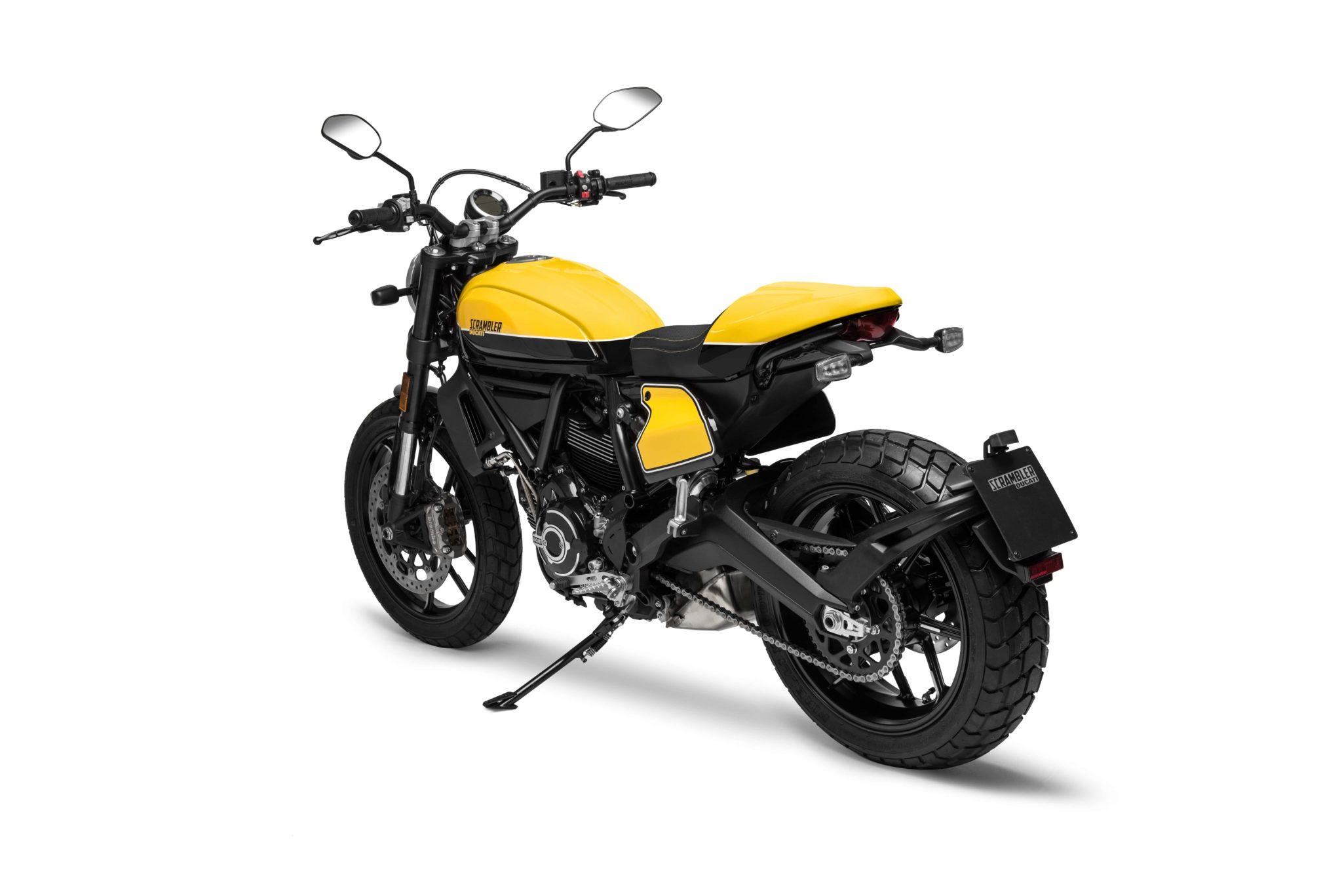 Ducati Scrambler Full Throttle side stand