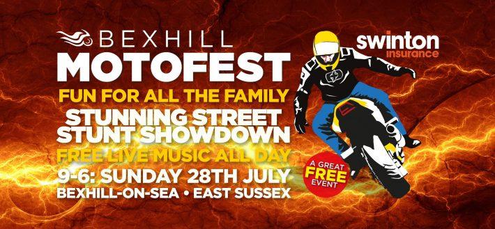Bexhill Motofest Poster
