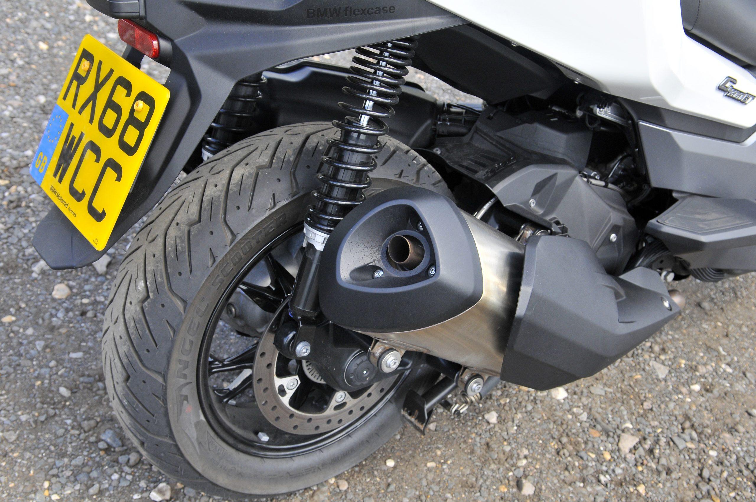 Exhaust BMW C400 GT