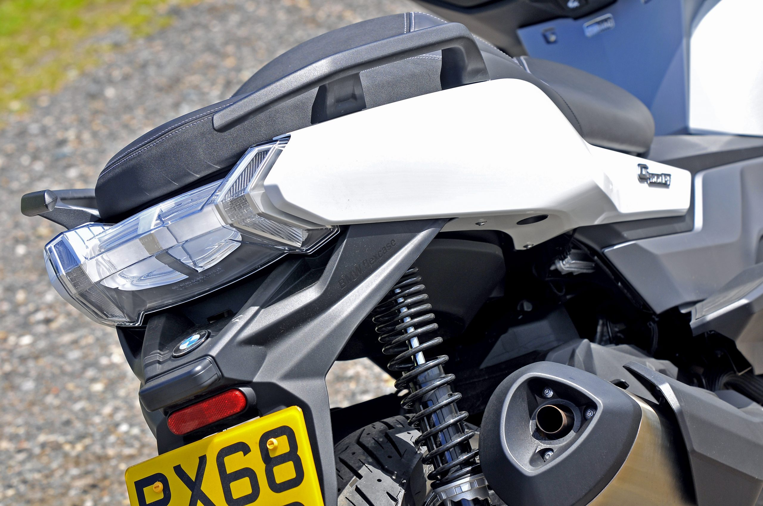 Tail end of BMW C400 GT