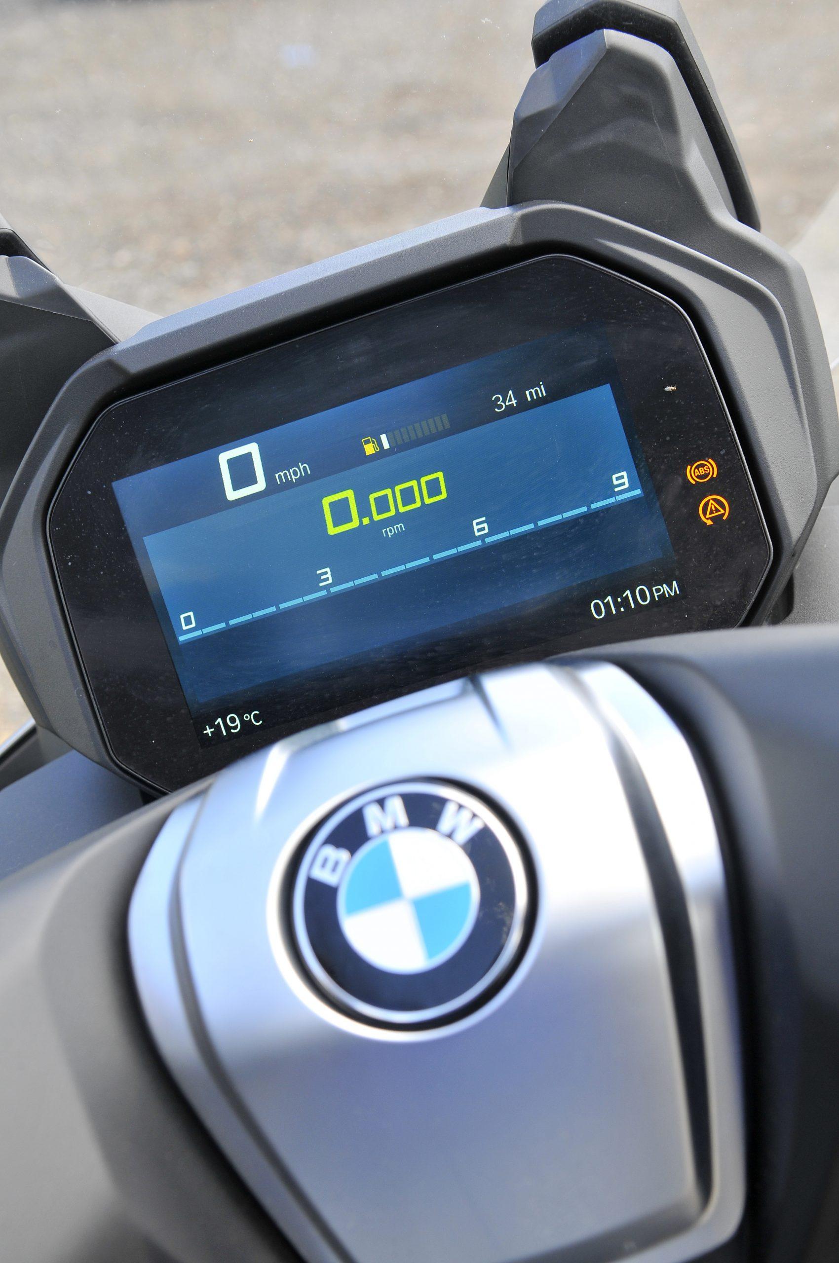 Digital Dashboard BMW C400 GT