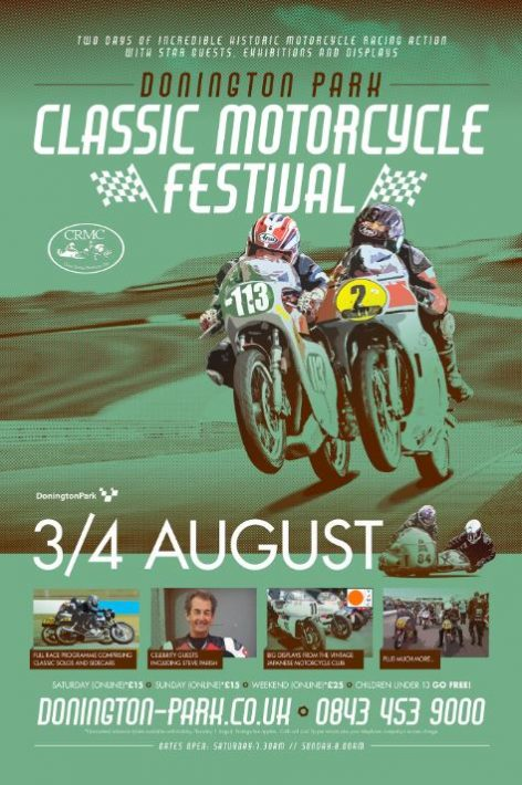 Donington Park Classic Motorcycle Festival