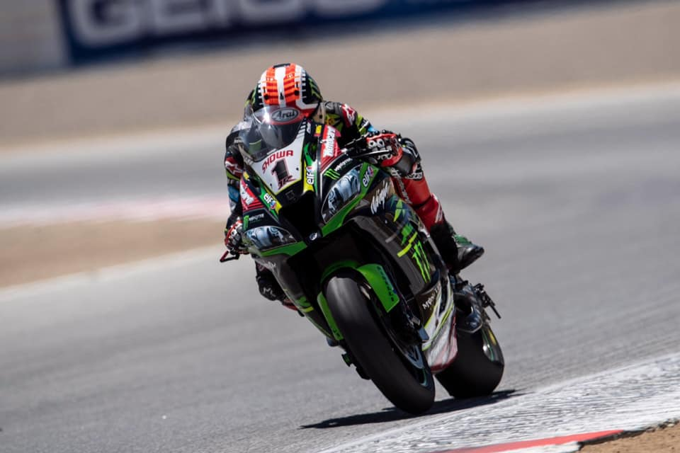 Rea leads the championship with 61 points credit Jonathan Rea Facebook