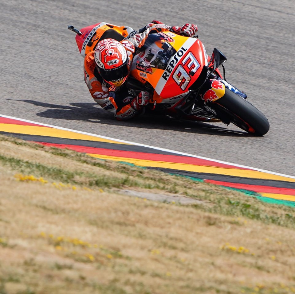 Marc Marquez wins in Germany 2019