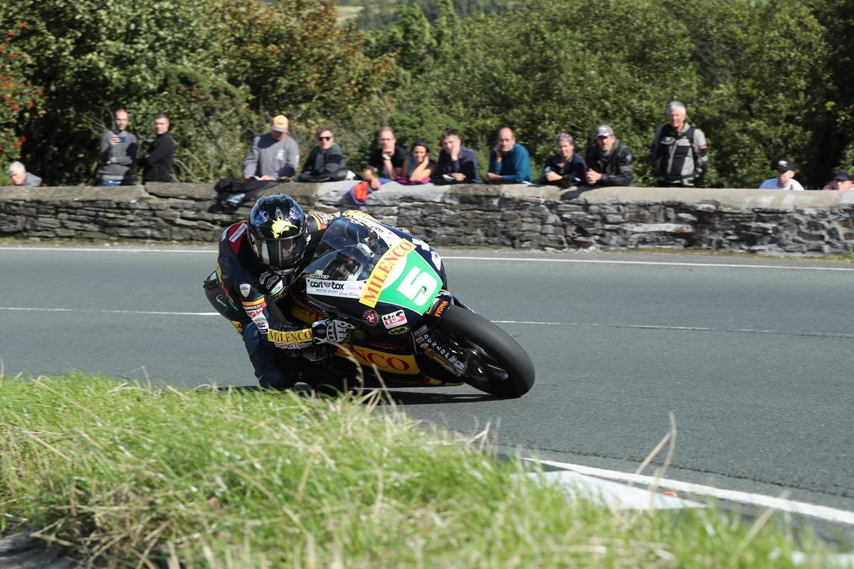 Bruce Anstey at Classic TT