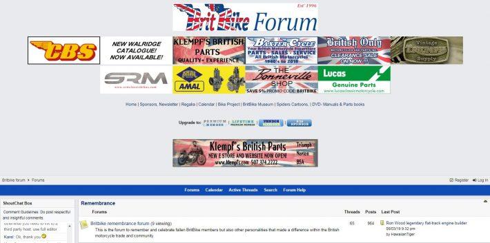 Brit Bike Forum