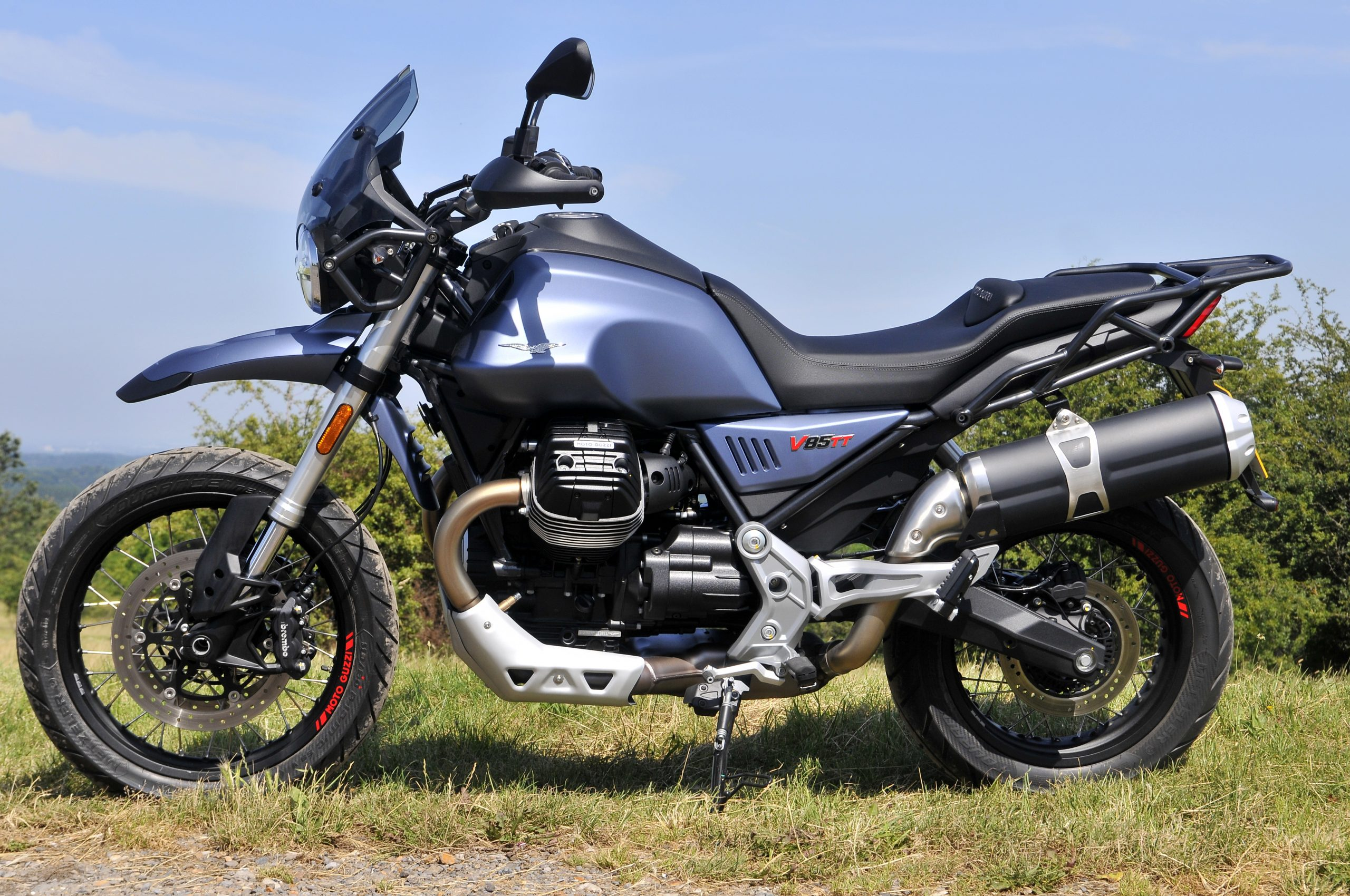 2019 Moto Guzzi V85 TT