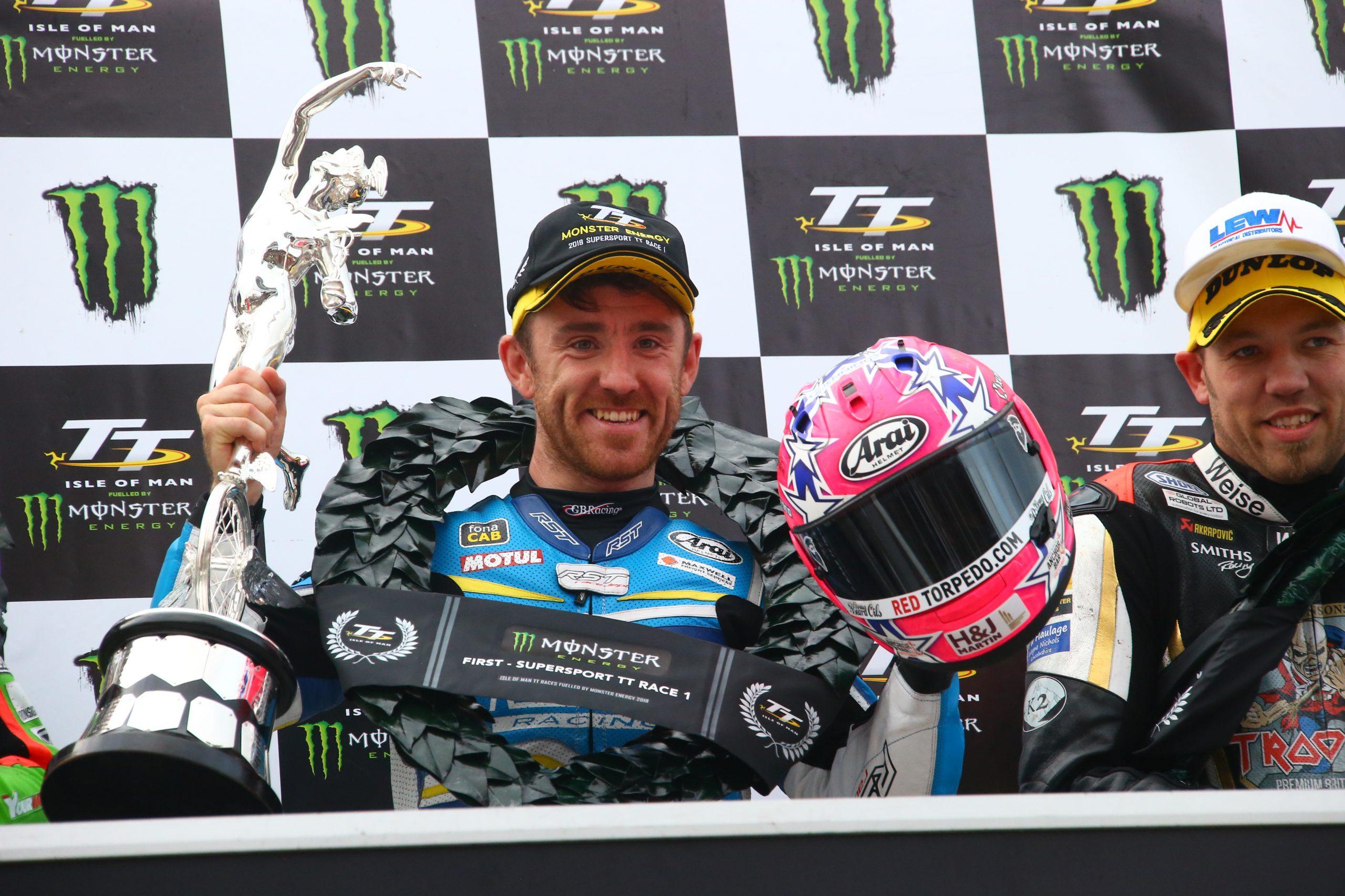 Lee Johnston 2019 IOM TT Races