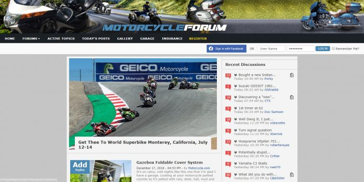 The Motorcycle Forum