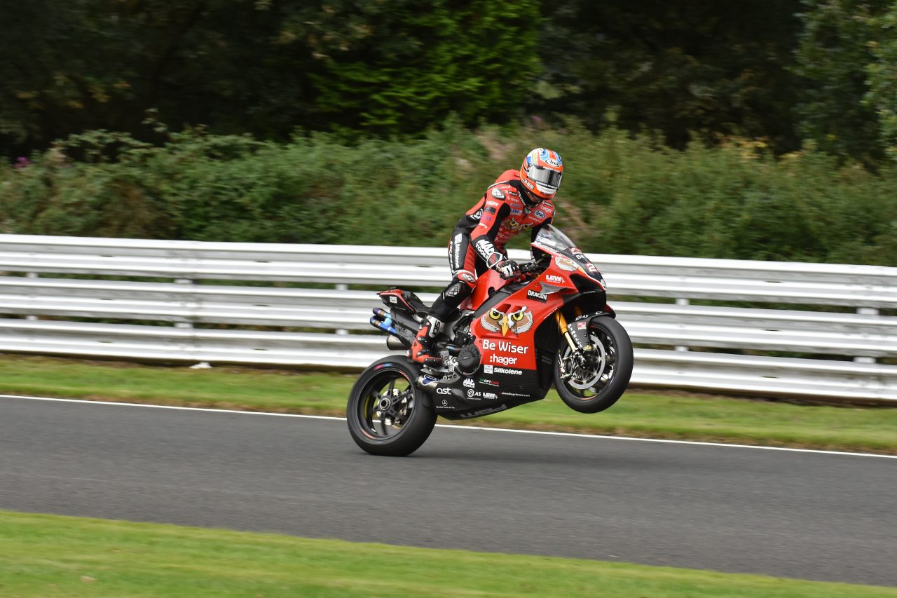 Josh Brookes at BSB Oulton Park
