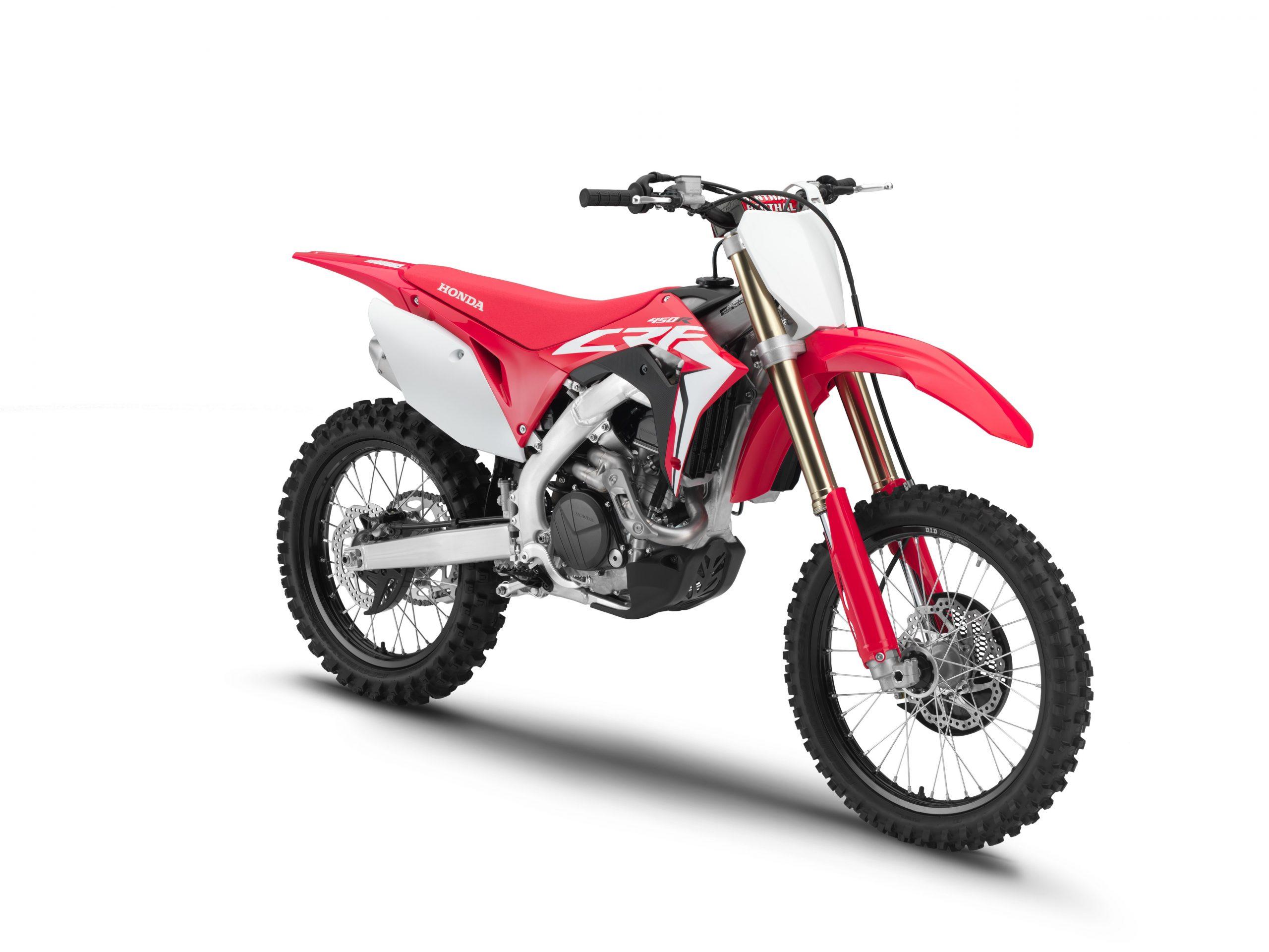 Motorbike types, Motocross, 2019 Honda CRF450R