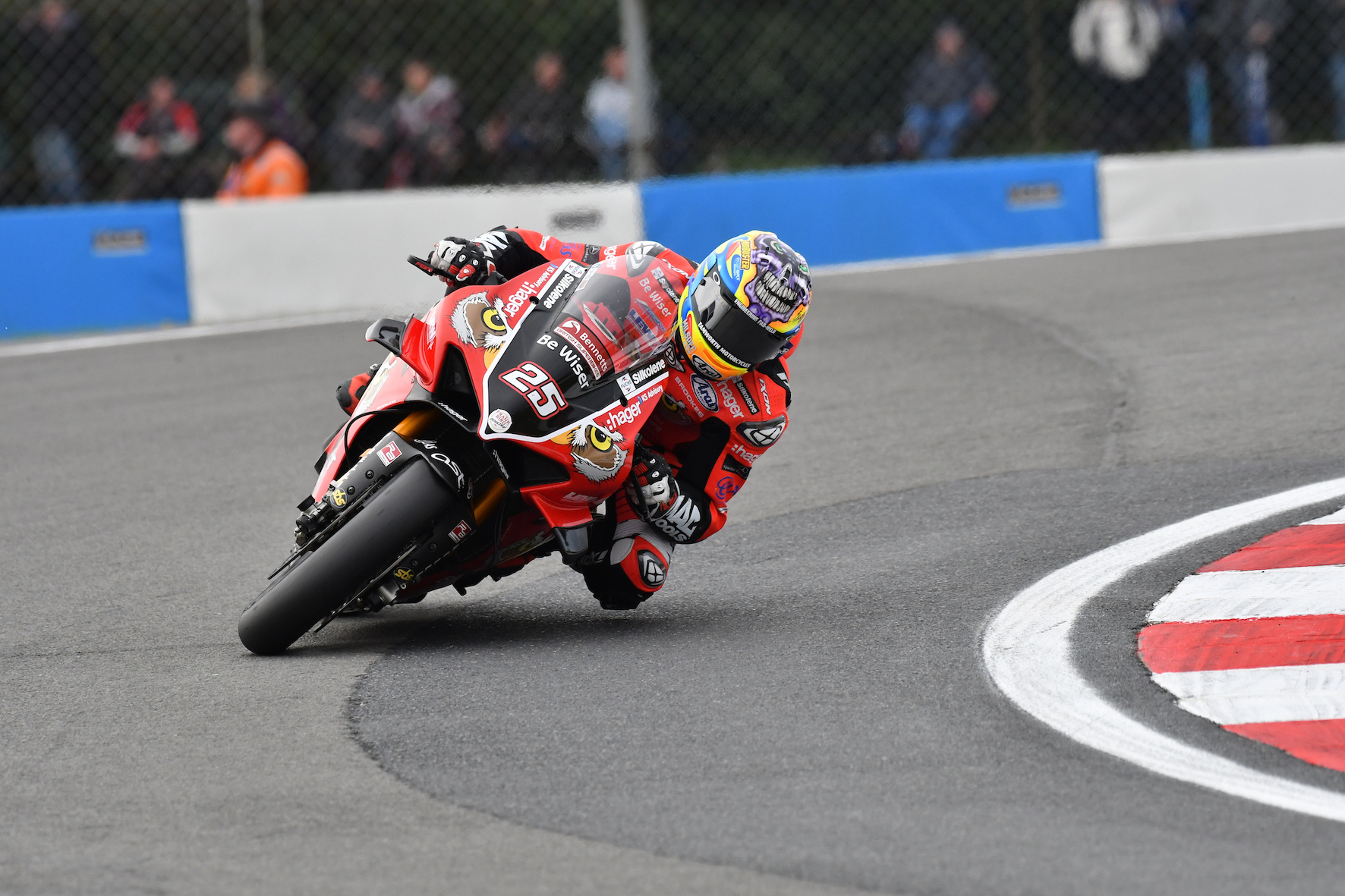 Josh Brookes racing at BSB