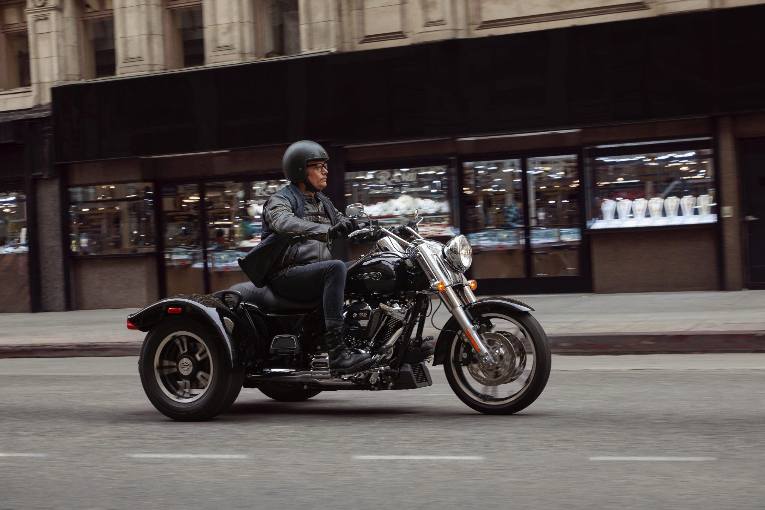 Motorbike types, trike, Harley-Davidson Freewheeler