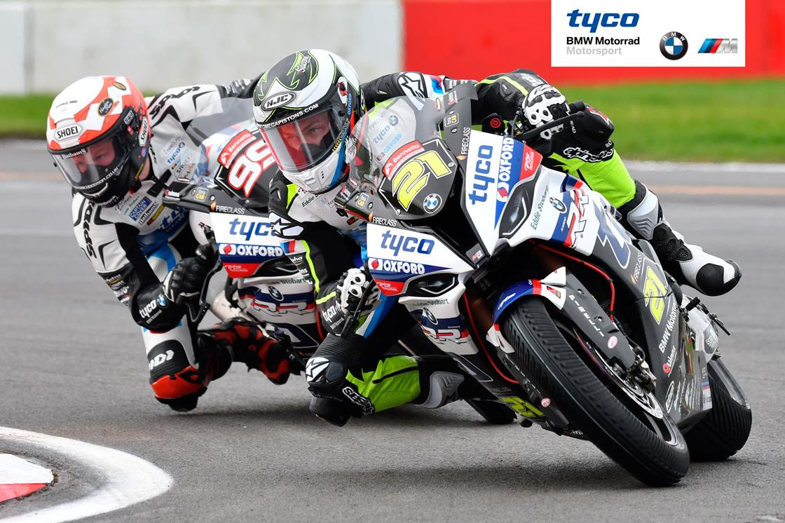 Iddon racing at BSB