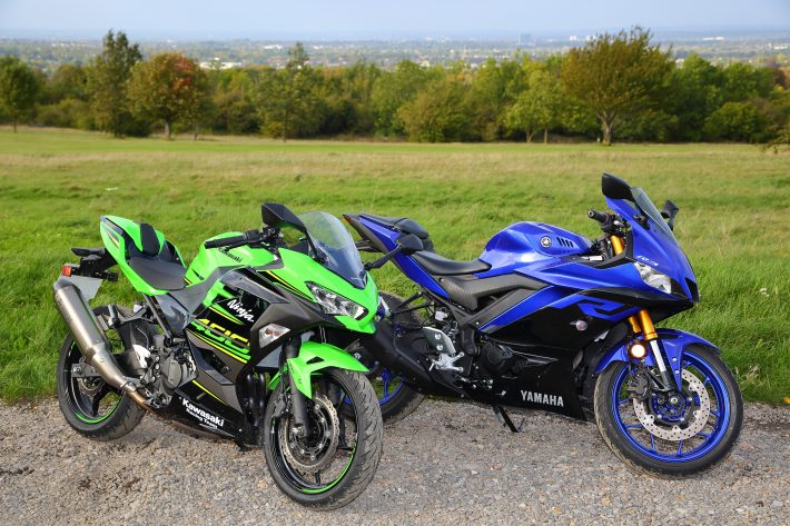 Ninja 400 vs R30017