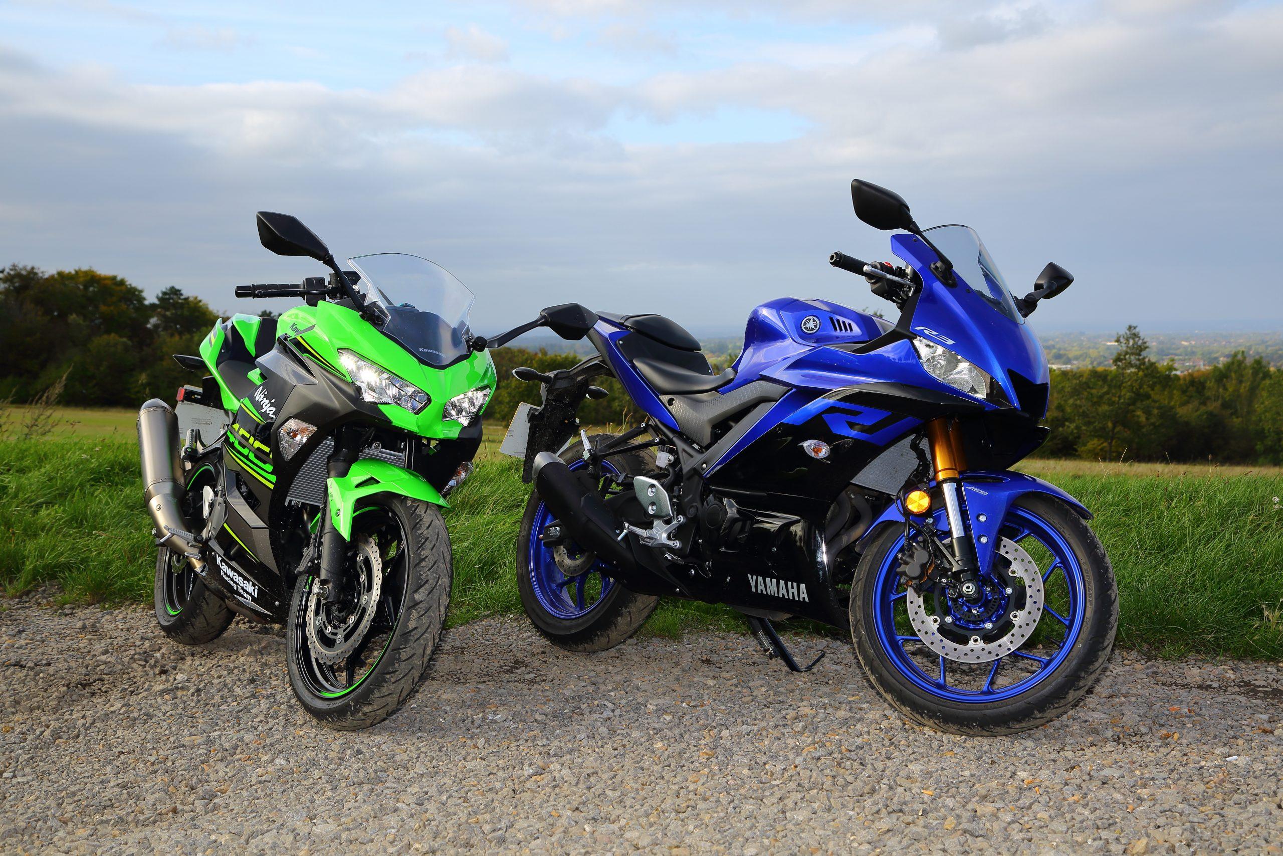 Ninja 400 vs R30020