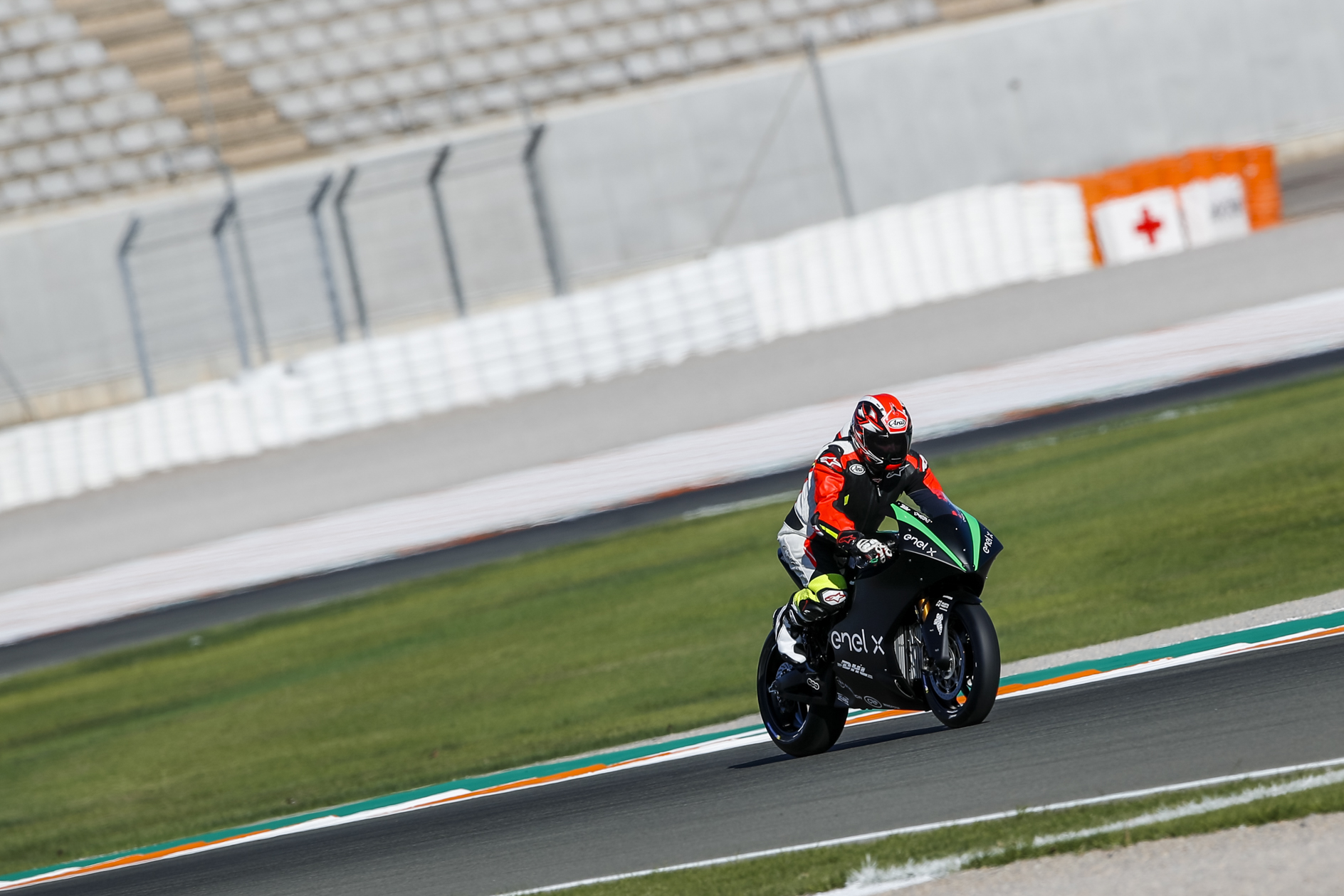 Energica MotoE Superbike test in Valencia