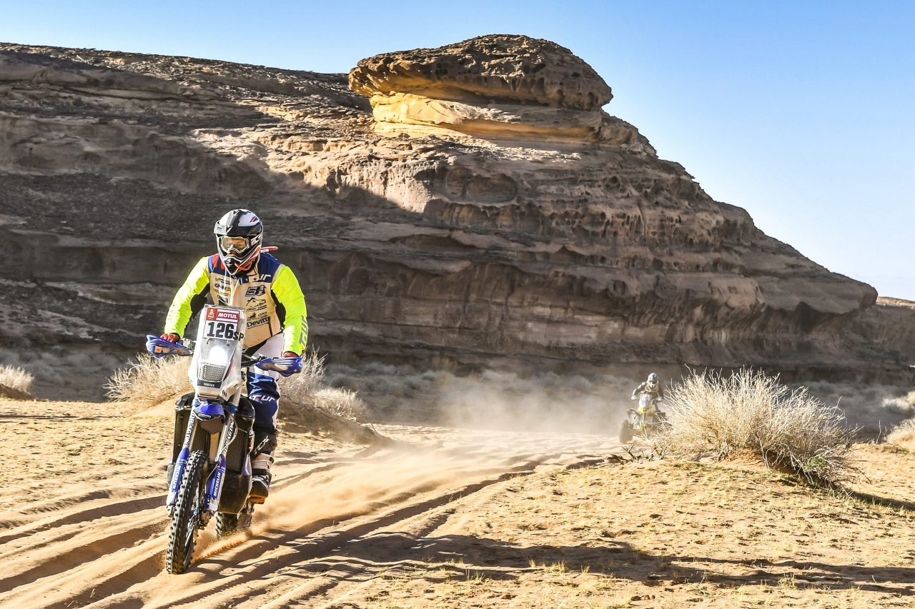 Simon Hewitt at Dakar Rally 2020, Day 5.
