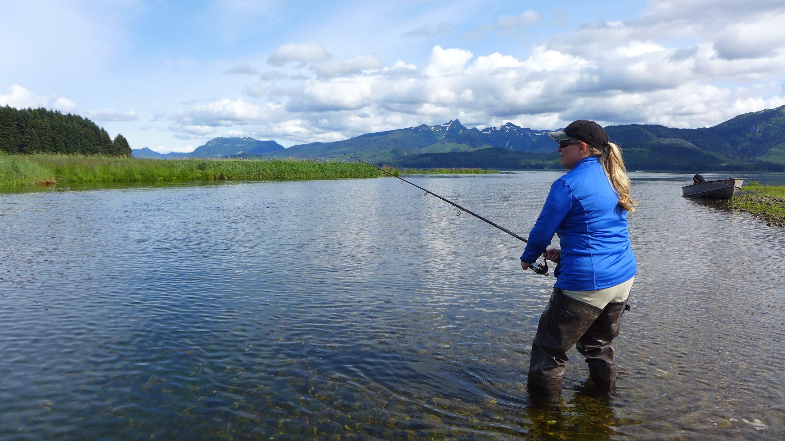 Salmon fishing credit flickr slashvee