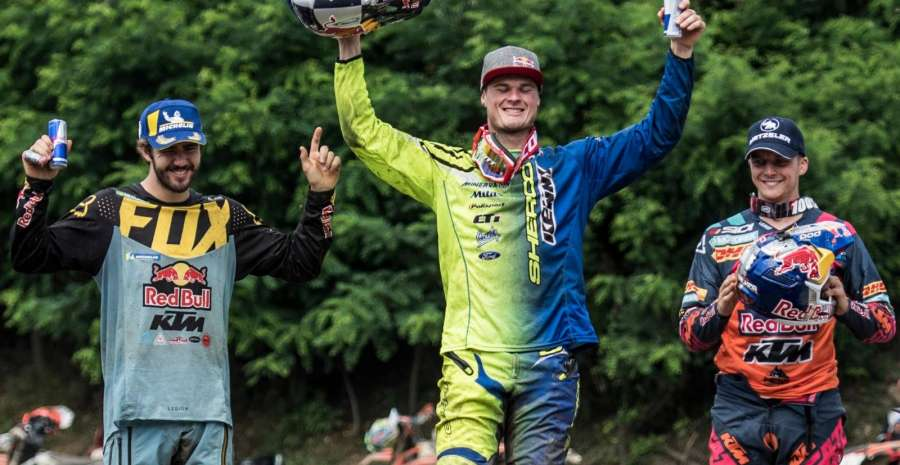 2018 winners credit official Red Bull Romaniacs Facebook Page