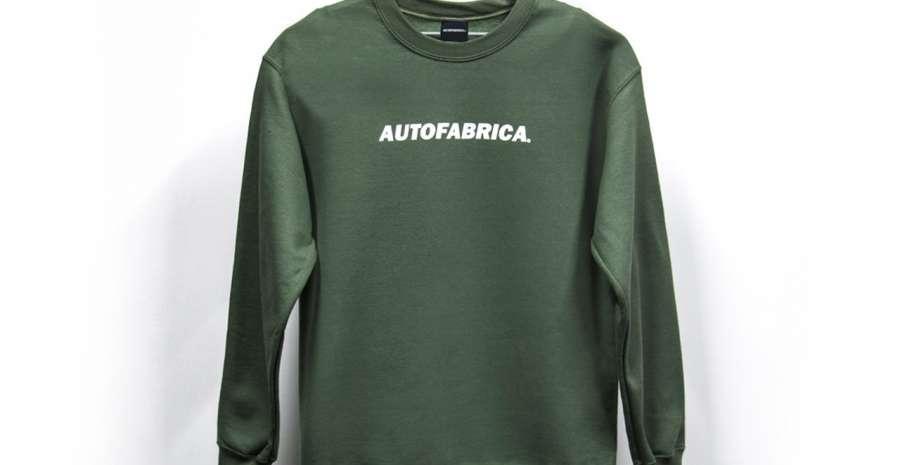 Auto Fabrica Green Sweatshirt