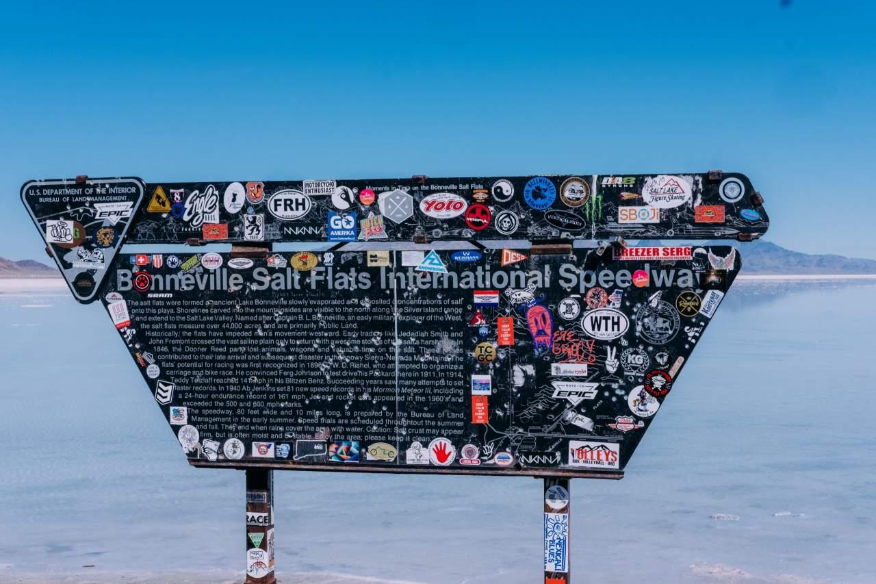 Bonneville Salt Flats credit Sierra Ray Unsplash