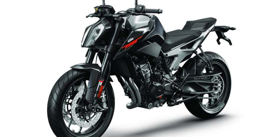 KTM 790 DUKE 2018 black MY18_LeFront
