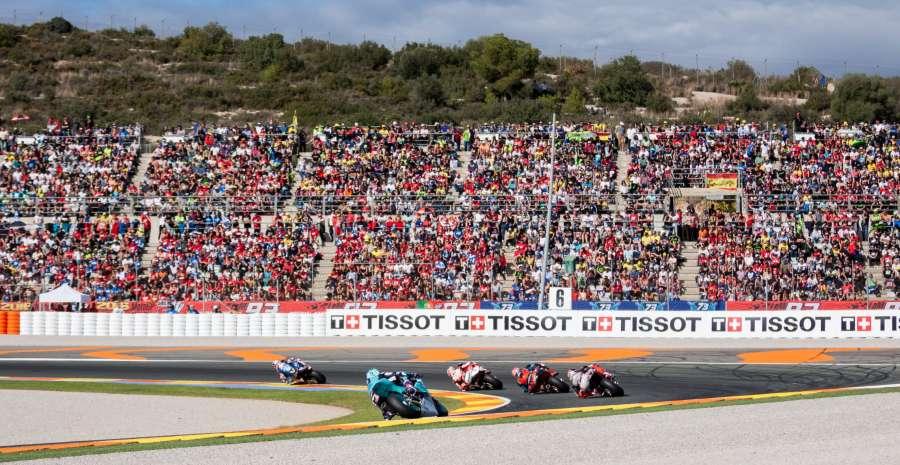 MotoGP Valencia Crowd