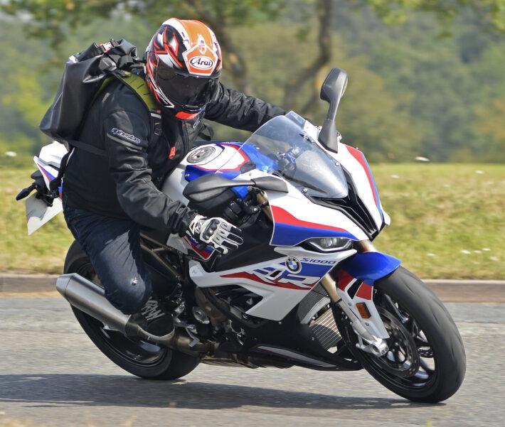 BMW s1000RR test ride