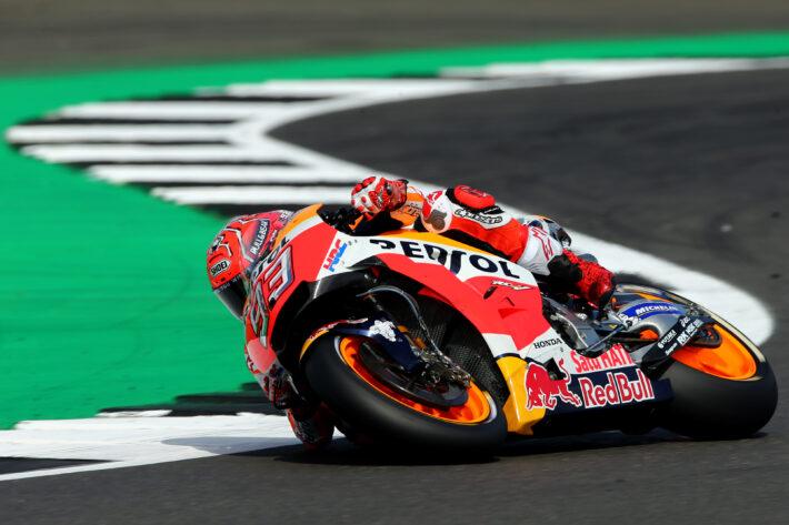 Marc Marquez at MotoGP