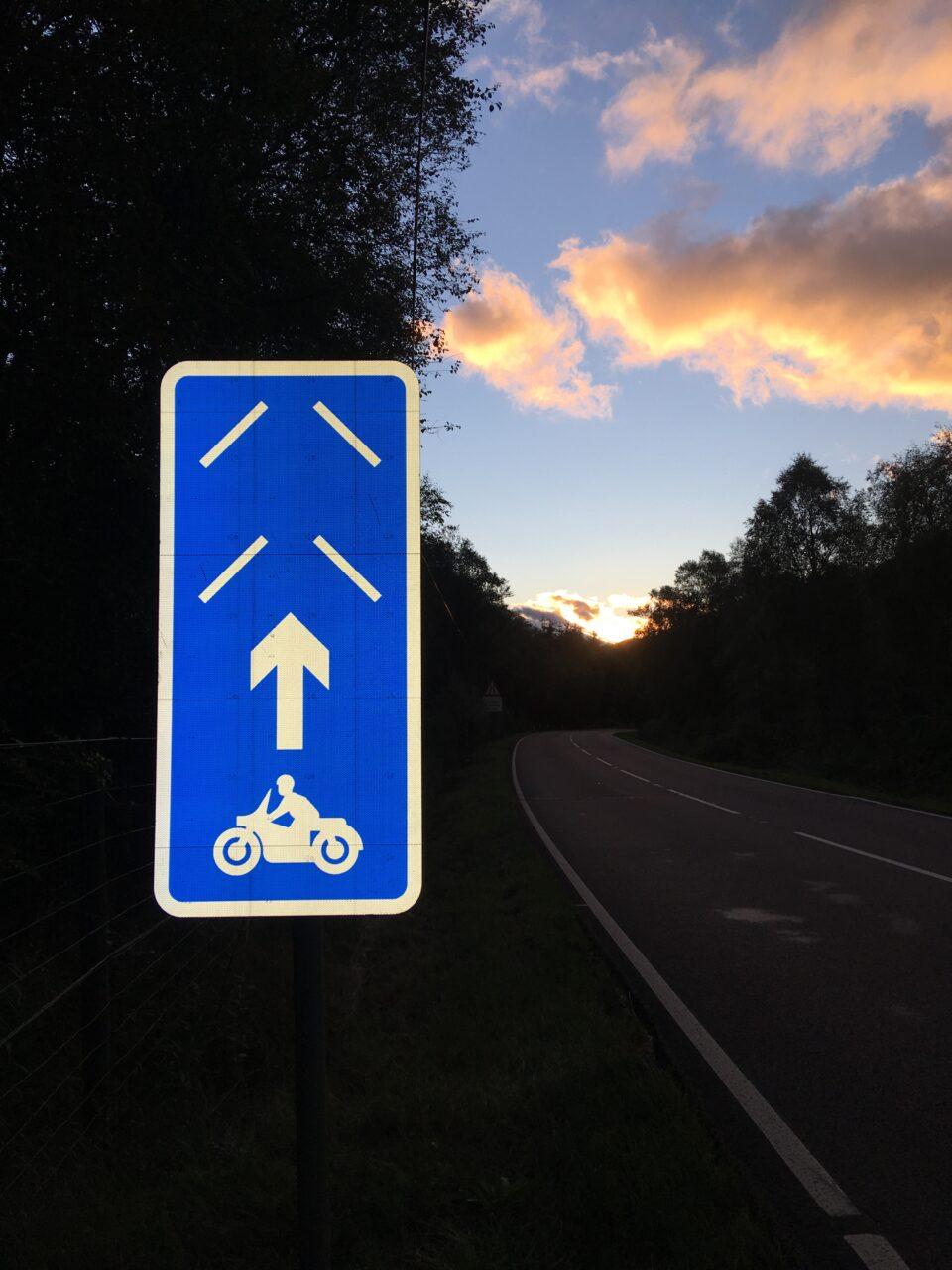 PRIMEs road sign