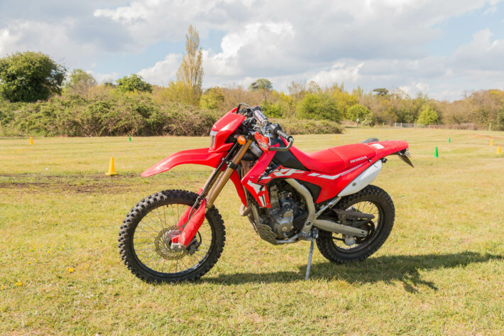 Off road motorcycle training