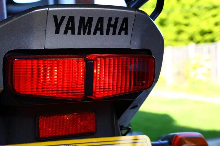Motorbike tail light check