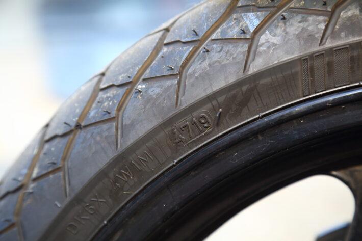 Motorbike Tyre Data Code