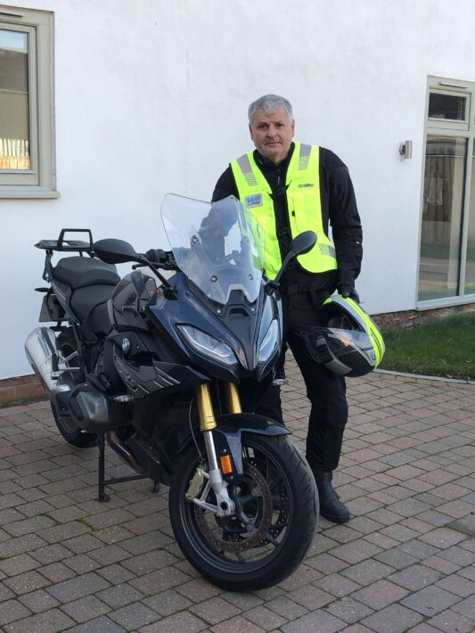 Riding tips from Richard Gladman